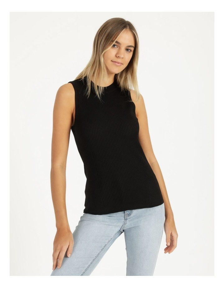 High Neck Knitted Tank image 1