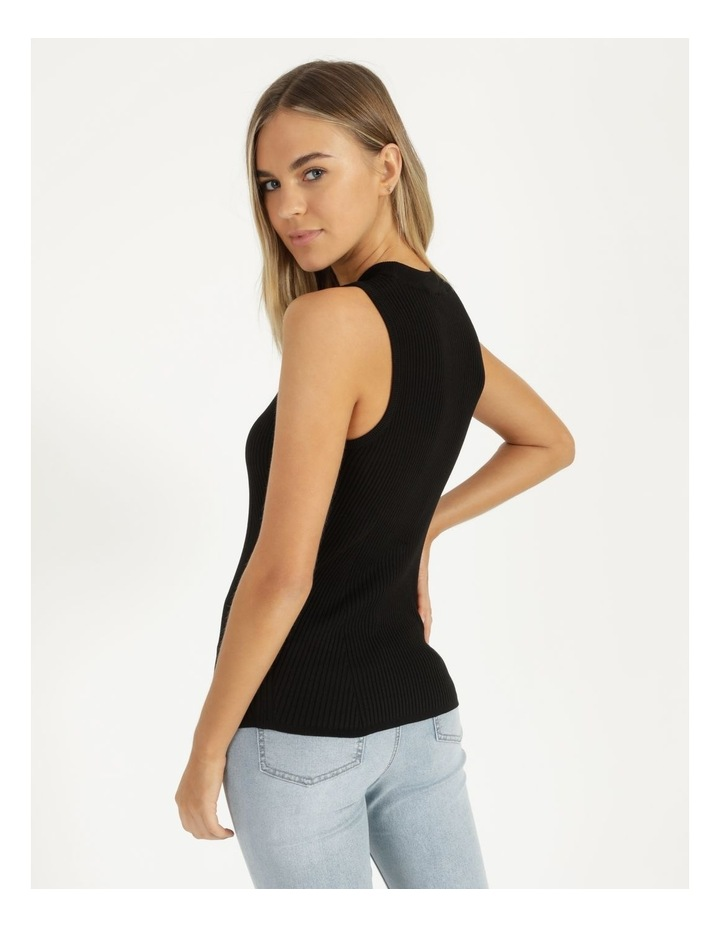 High Neck Knitted Tank image 4