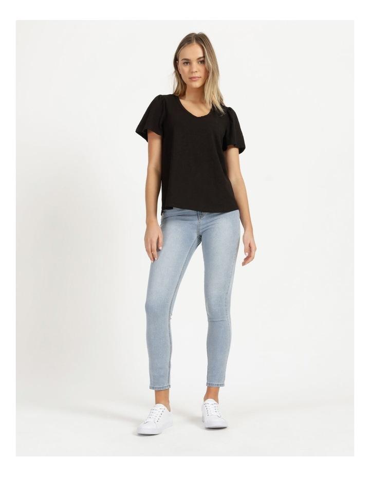 Organic Cotton Flutter Sleeve T-Shirt image 2