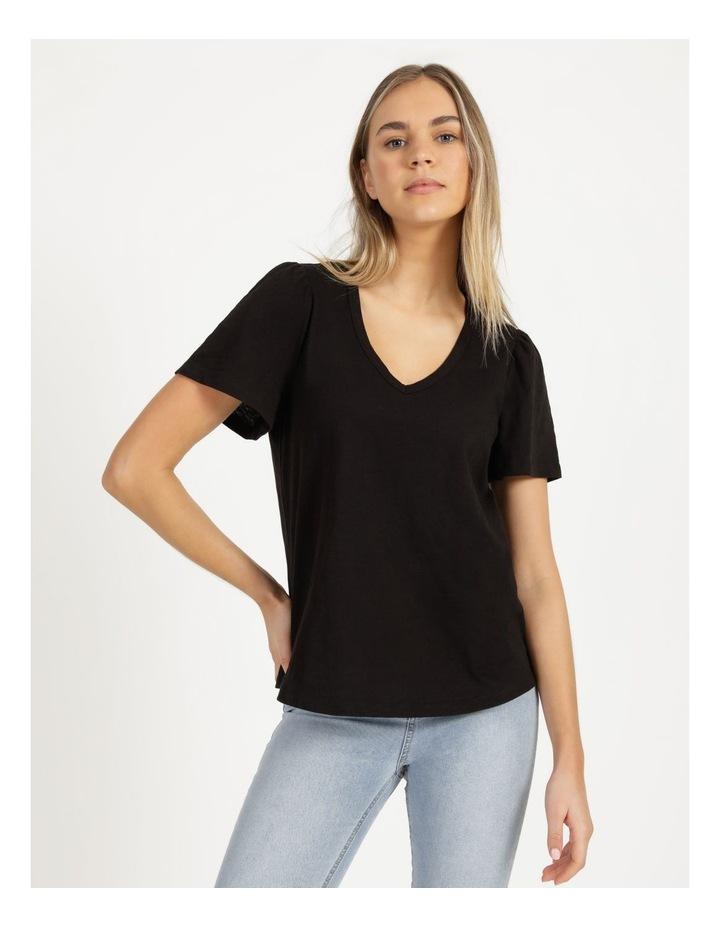 Organic Cotton Flutter Sleeve T-Shirt image 3