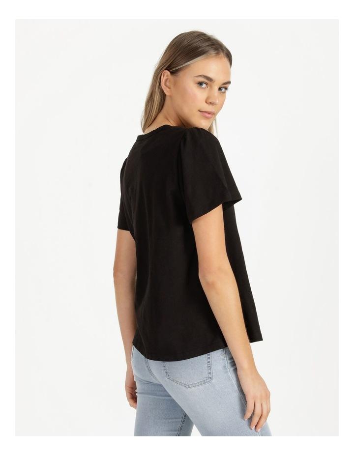 Organic Cotton Flutter Sleeve T-Shirt image 4