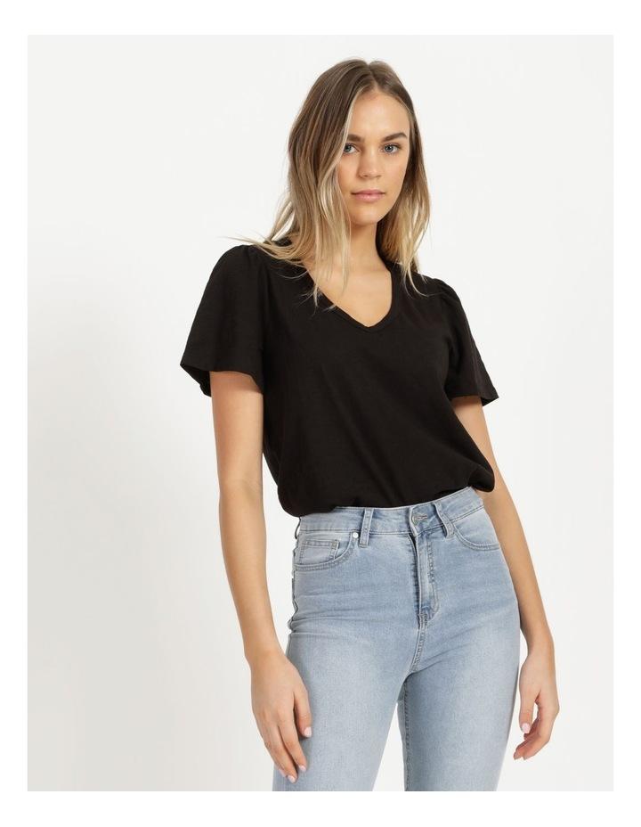 Organic Cotton Flutter Sleeve T-Shirt image 5