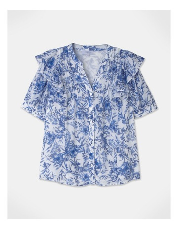 Blue Summer Floral colour