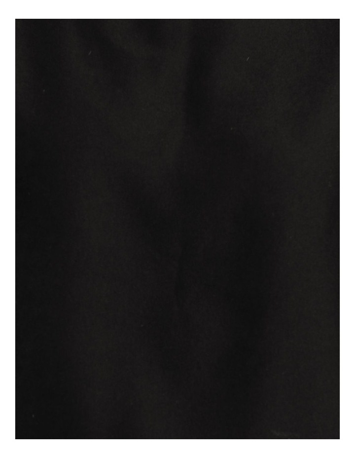 Relaxed Short Sleeve Top Black image 7