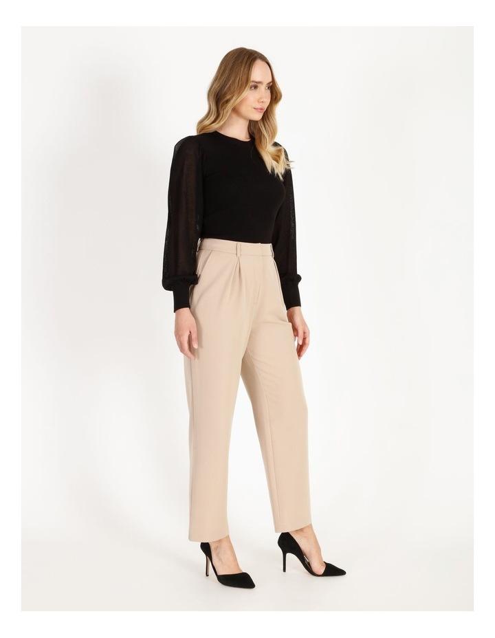Pleat Front Wide-Leg Pants image 2
