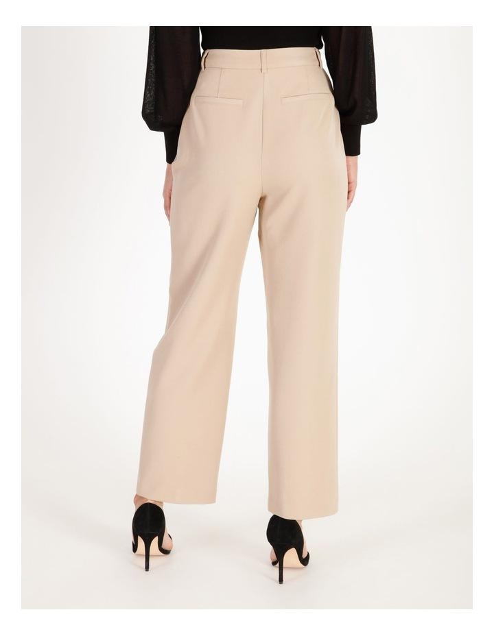 Pleat Front Wide-Leg Pants image 3