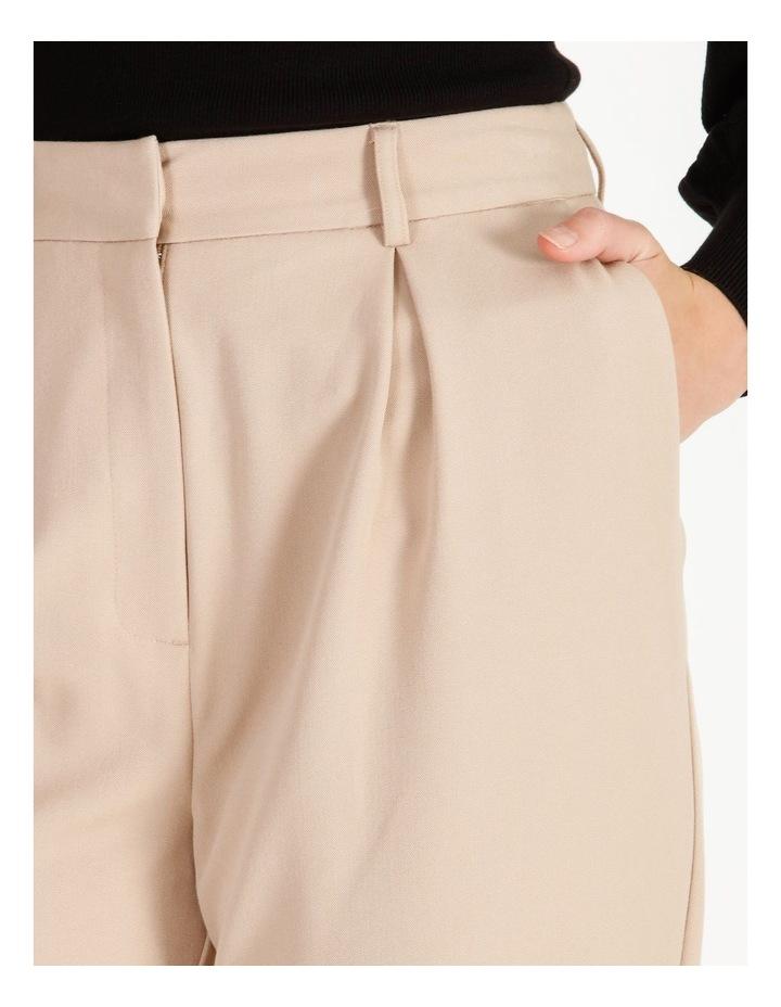 Pleat Front Wide-Leg Pants image 4