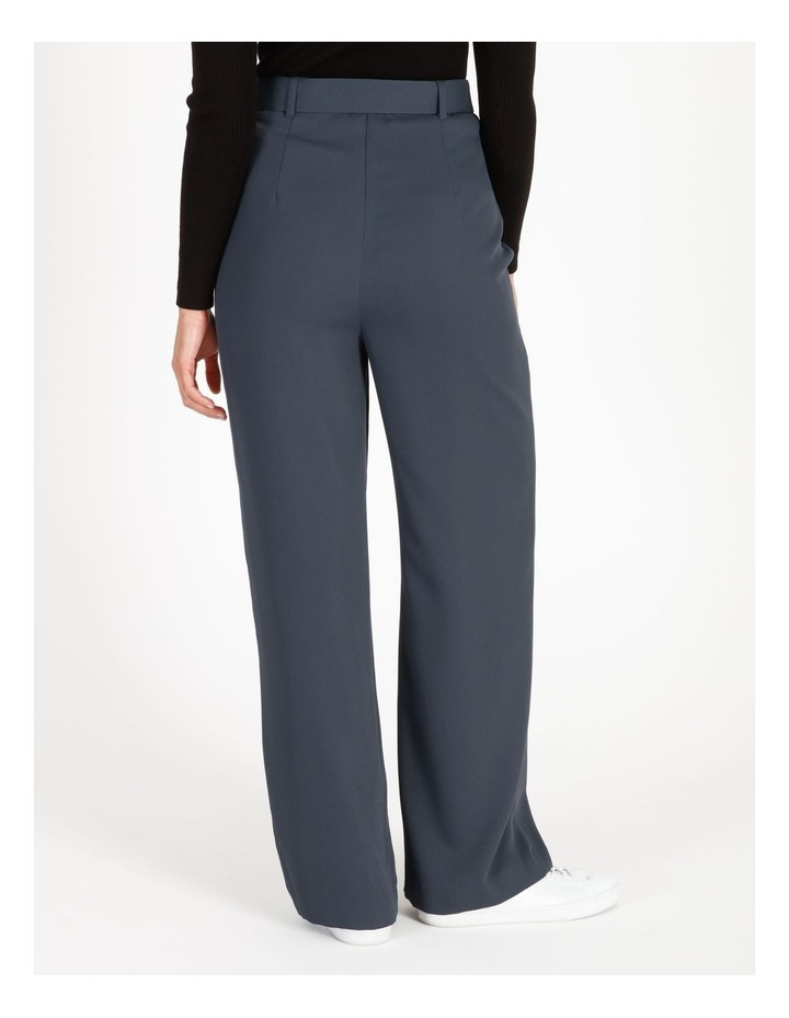 Wide Leg Pants With Belt Detail image 3