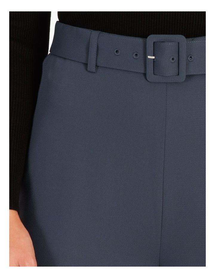 Wide Leg Pants With Belt Detail image 4