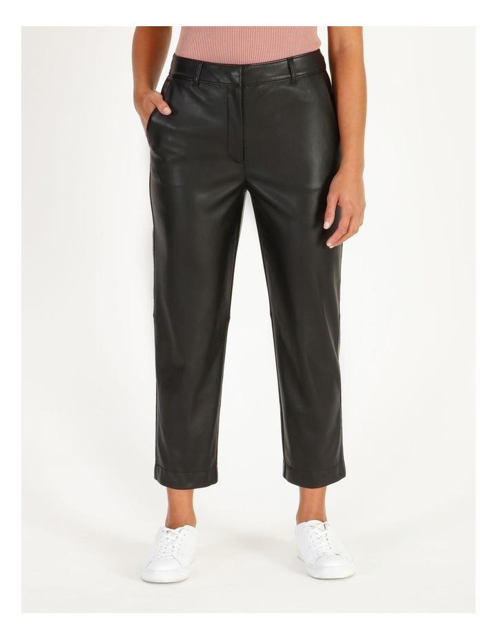 Faux Leather Pants image 1