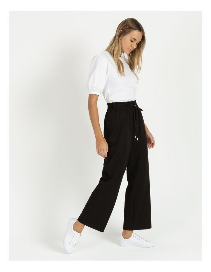 Elastic Waist Wide Leg Pants image 3