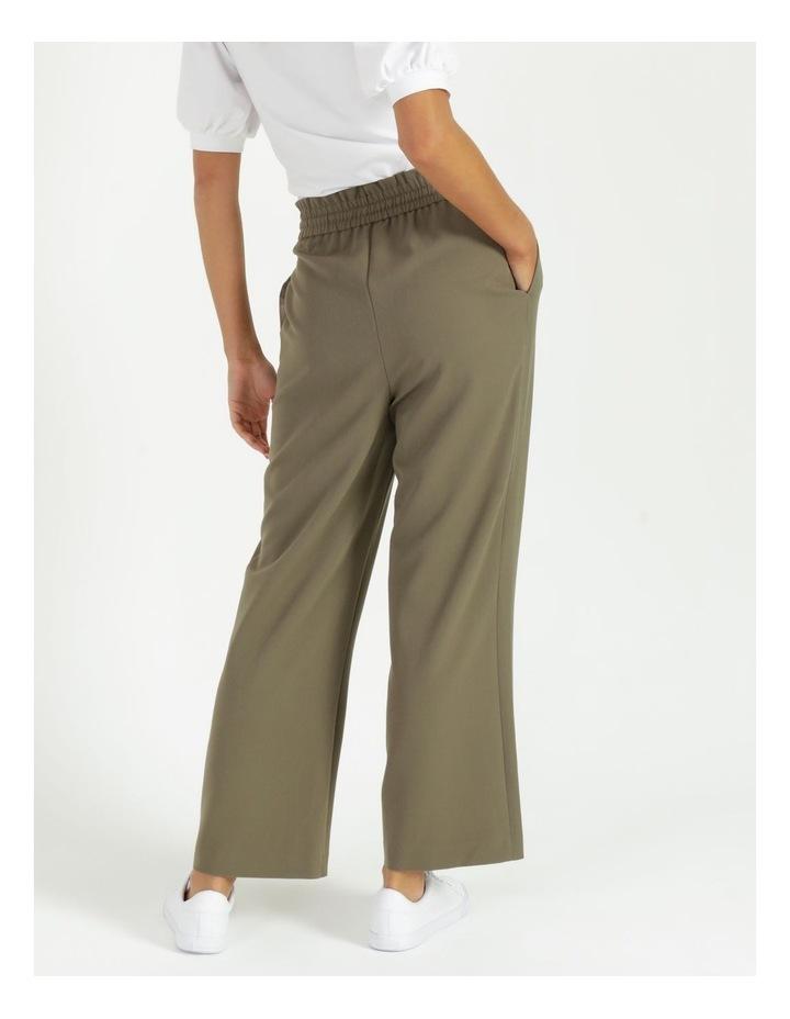 Elastic Waist Wide Leg Pants image 4