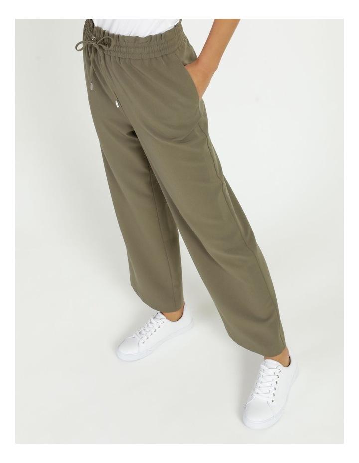 Elastic Waist Wide Leg Pants image 5