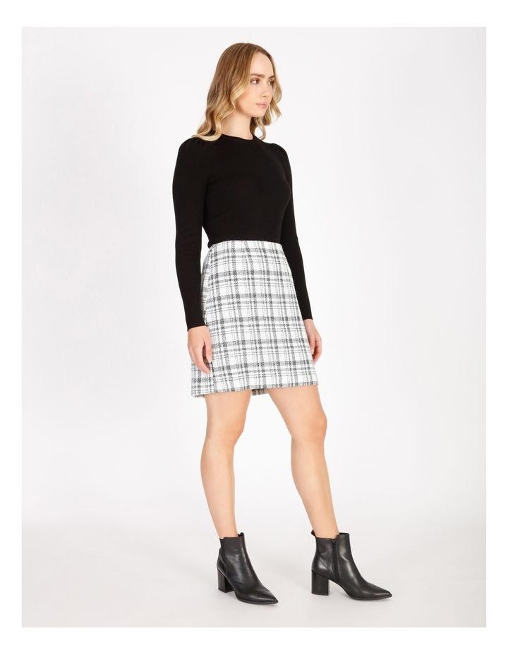 Check Boucle Mini Skirt image 2