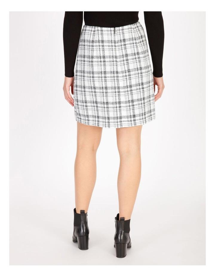 Check Boucle Mini Skirt image 3