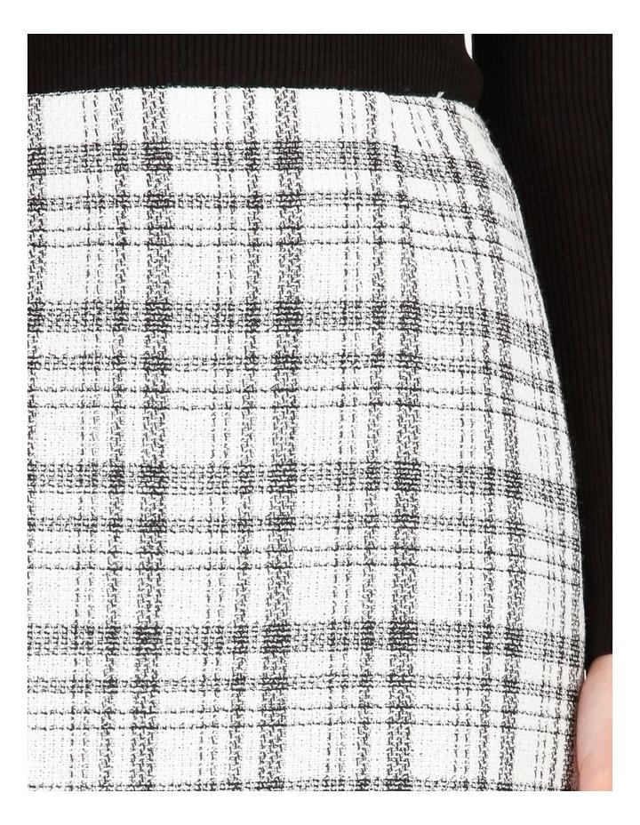 Check Boucle Mini Skirt image 4