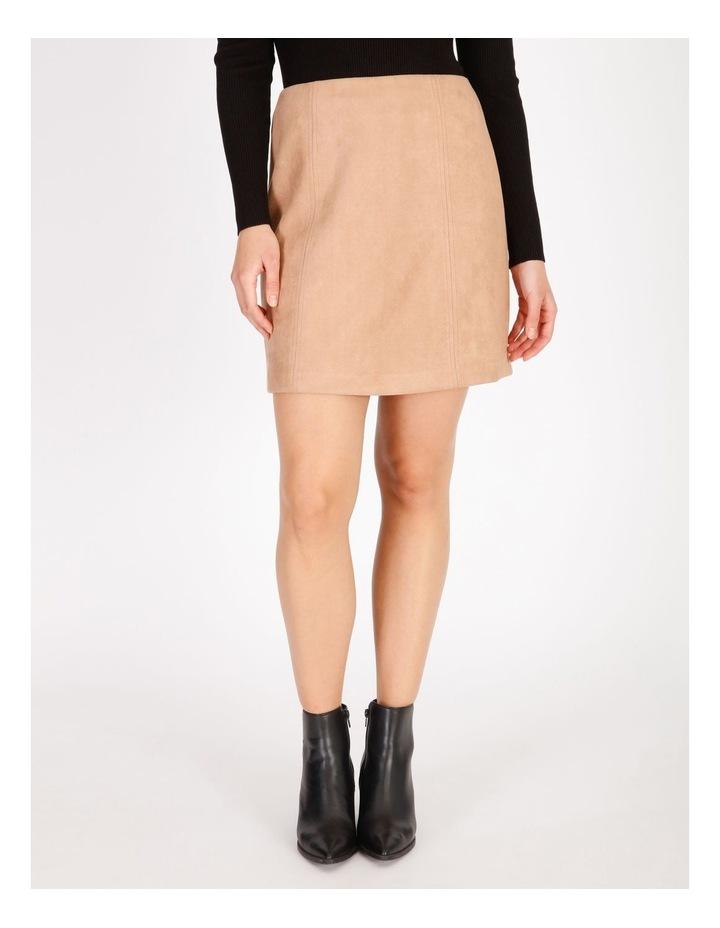 Suedette Mini Skirt image 1