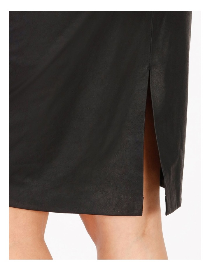 Faux Leather Pencil Skirt image 4