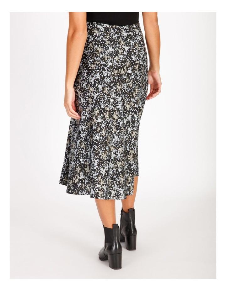Satin Bias Cut Midi Skirt image 3