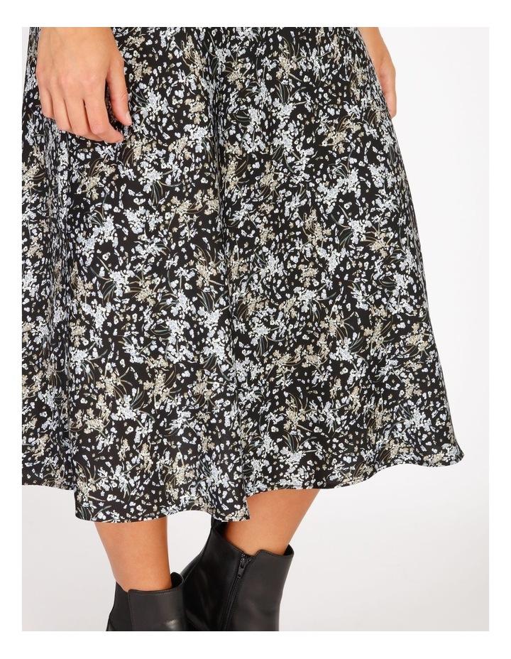 Satin Bias Cut Midi Skirt image 4