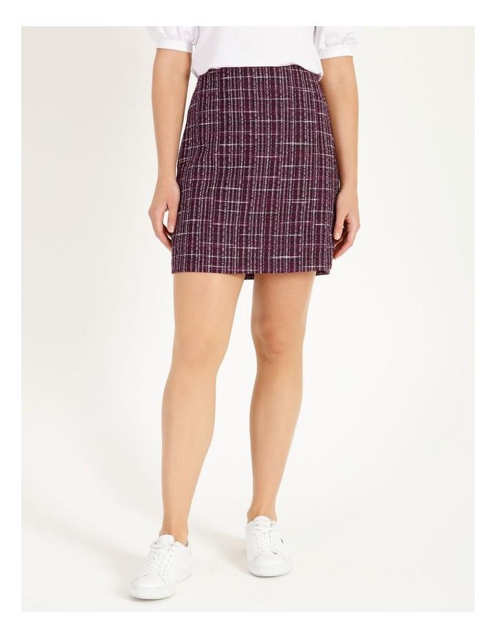 Boucle Mini Skirt image 1