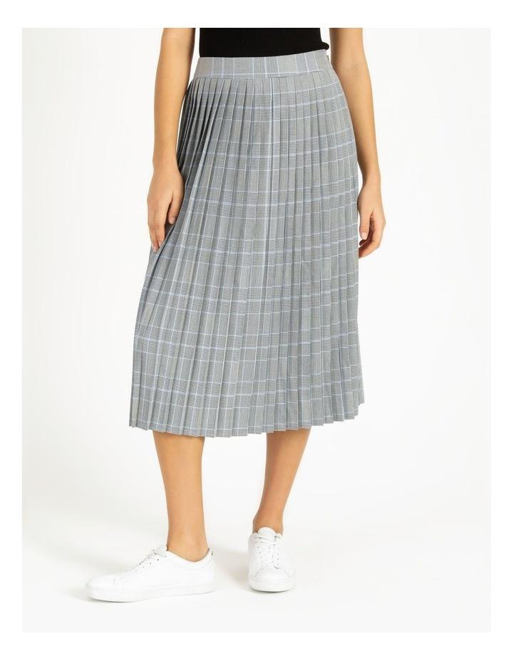 Check Pleat Skirt image 1