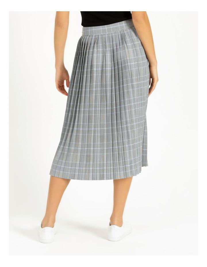 Check Pleat Skirt image 3