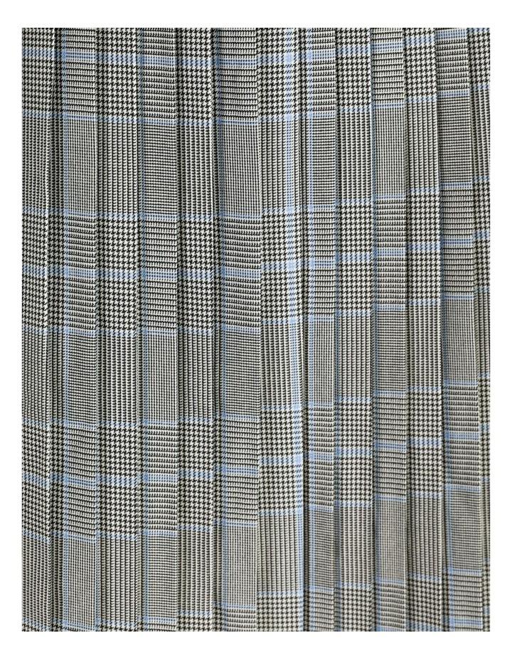Check Pleat Skirt image 7