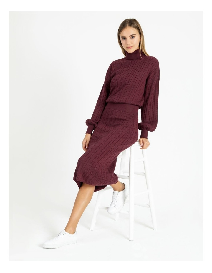 Co-Ord Knit Skirt image 1