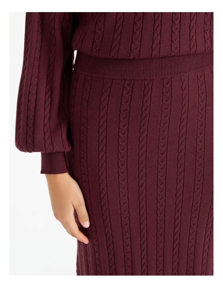 Co-Ord Knit Skirt image 6