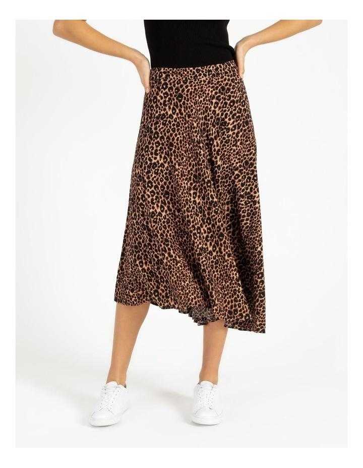 Asymmetrical Midi Skirt image 1