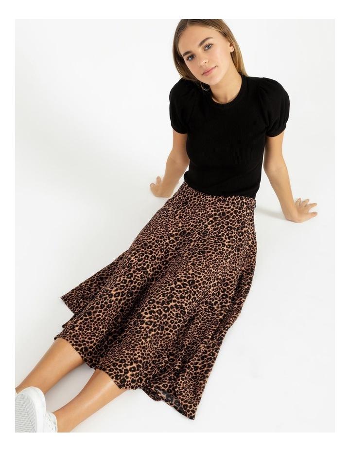 Asymmetrical Midi Skirt image 5