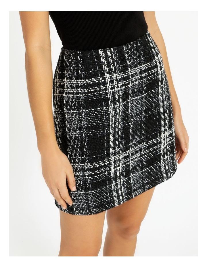Check Boucle Mini Skirt image 5
