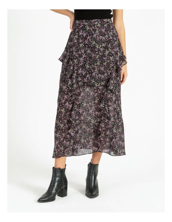 Soft Frill Midi Skirt image 1