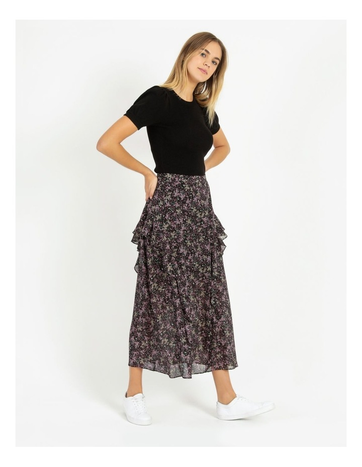 Soft Frill Midi Skirt image 4