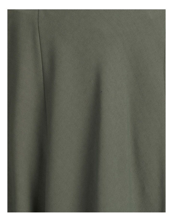 A-Line Belted Midi Skirt image 7
