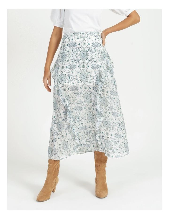 Soft Frill Midi Skirt image 2