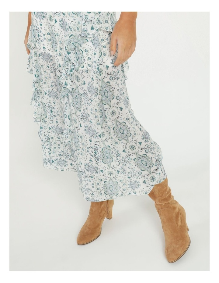 Soft Frill Midi Skirt image 5