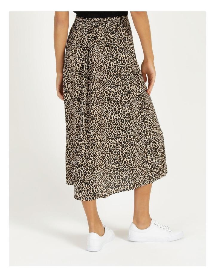 Aline Printed Wrap Midi Skirt image 4