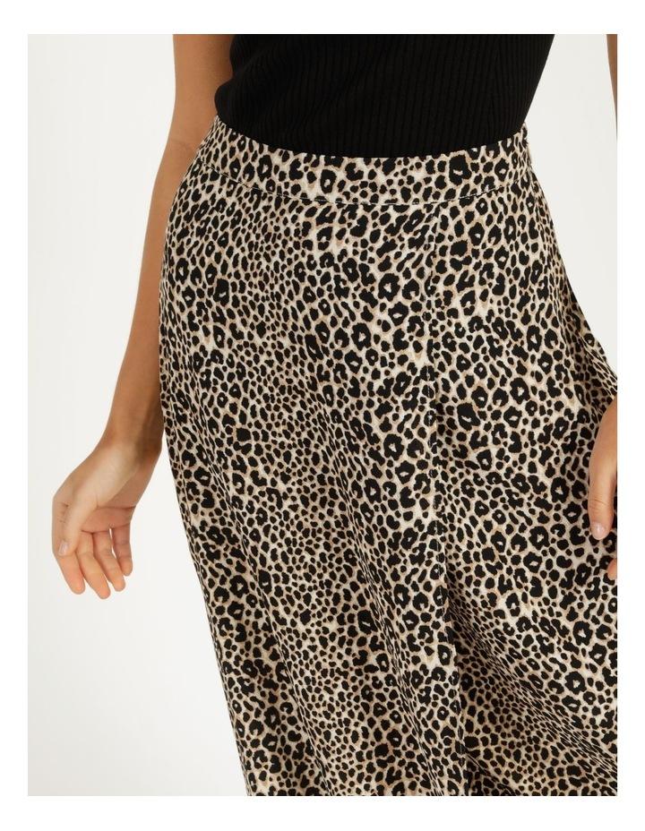 Aline Printed Wrap Midi Skirt image 5