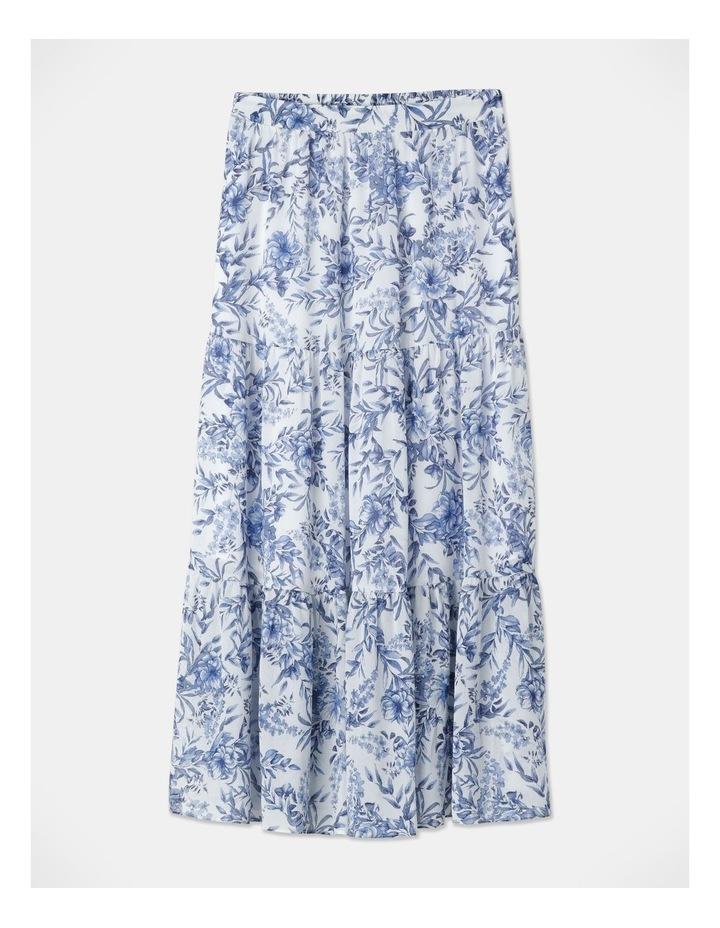 Soft Tiered Midi Skirt image 1