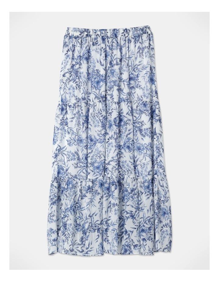 Soft Tiered Midi Skirt image 3