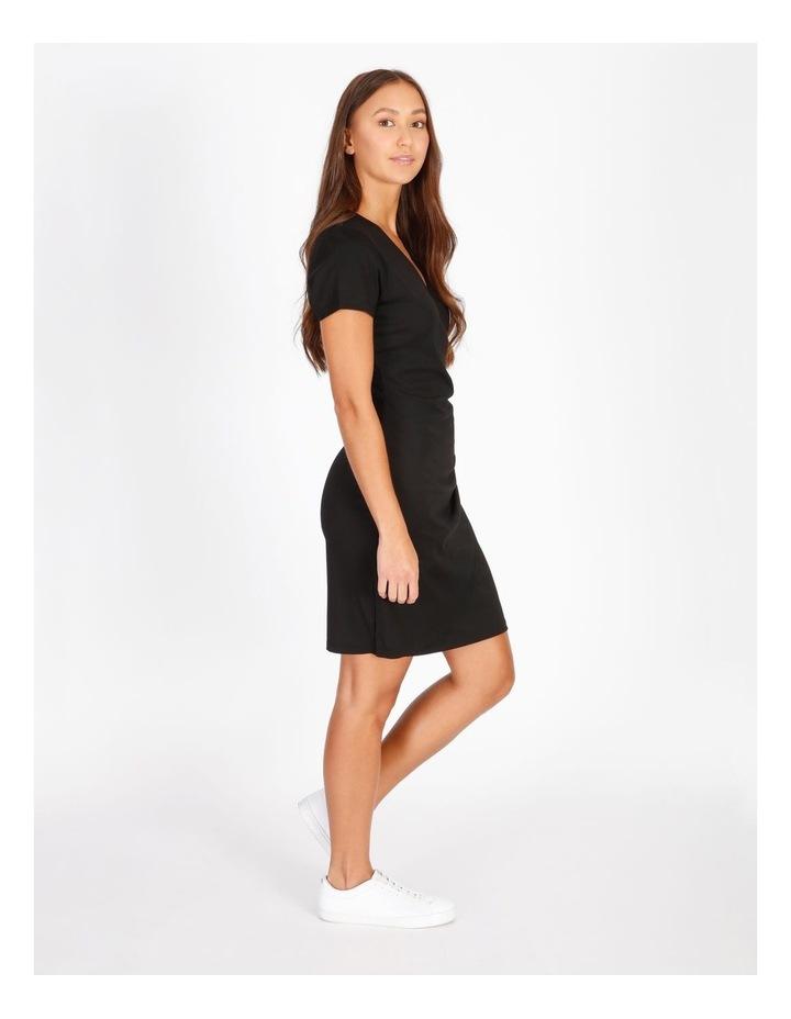 Wrap Front Jersey Mini Dress image 2