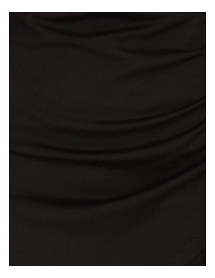Wrap Front Jersey Mini Dress image 5
