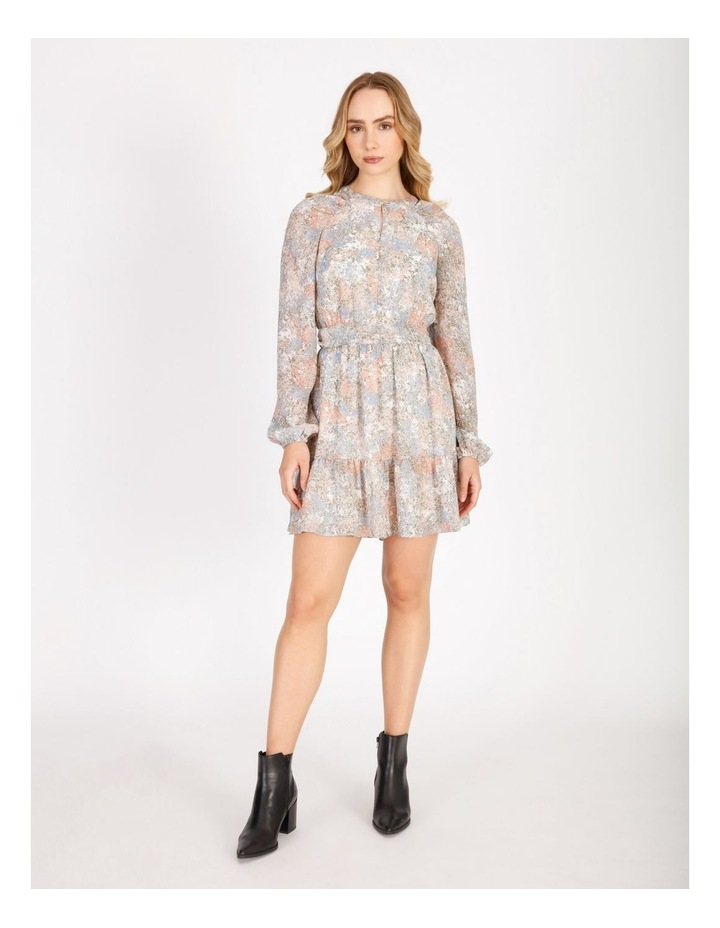 Blouson Sleeve Mini Dress image 1