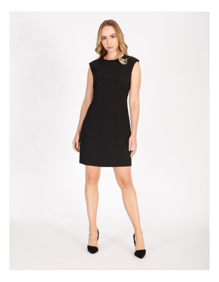 Power Shoulder Mini Dress image 1