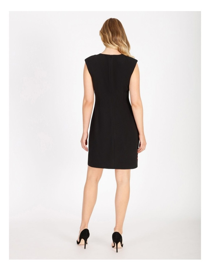 Power Shoulder Mini Dress image 3