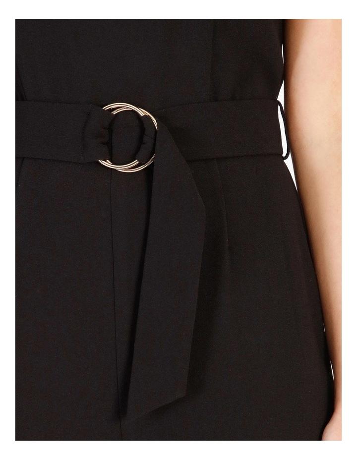 Wide Leg Belt Detail Jumpsuit image 4