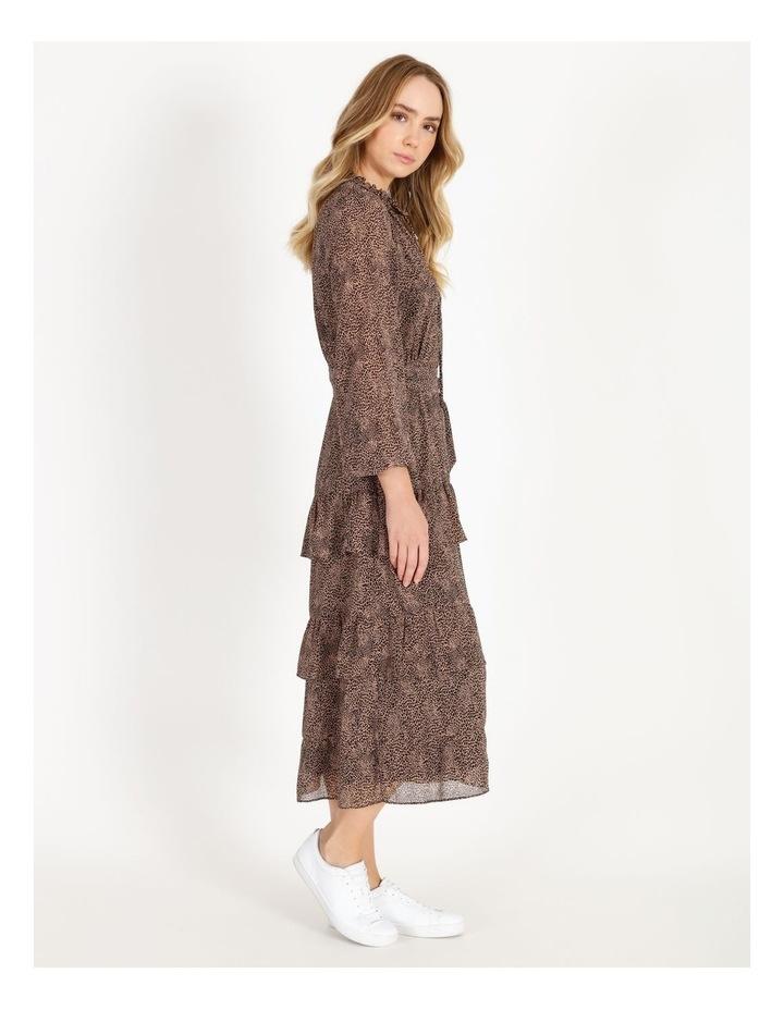 Tiered Jungle Midi Dress image 2