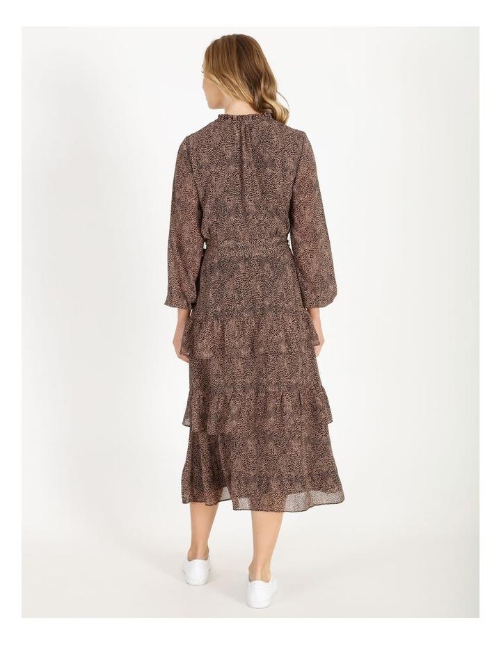Tiered Jungle Midi Dress image 3